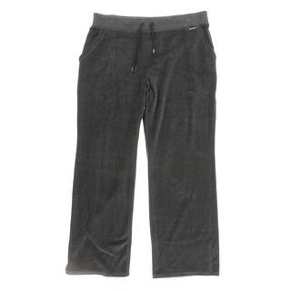 MICHAEL Michael Kors Womens Plus Casual Pants Velour Lounge