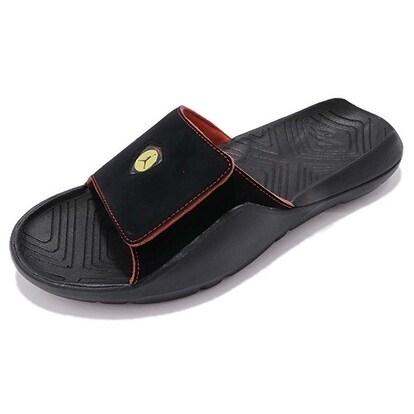 d235dfa4d57 Shop Nike Mens Jordan Hydro 7, Black/Black-Varsity Red-Dandelion, 10 D(M)  Us - Free Shipping Today - Overstock - 20722239