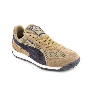 Puma Anjan EXT Round Toe Canvas Sneakers