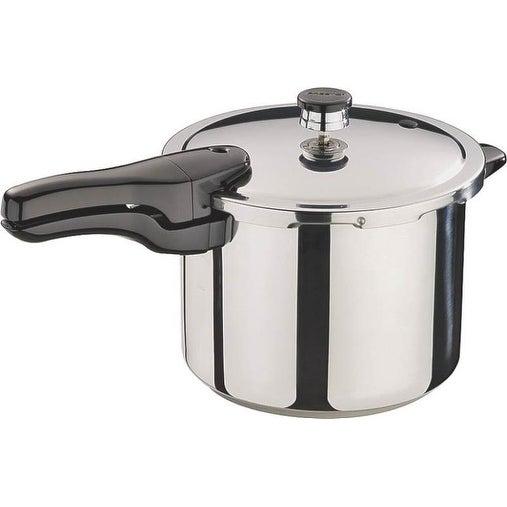 Presto 01362 Pressure Cooker, Stainless Steel, 6 Quart