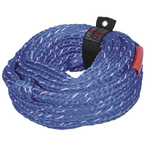 Airhead watersports airhead bling 6 rider tube rope 60' ahtr-16bl