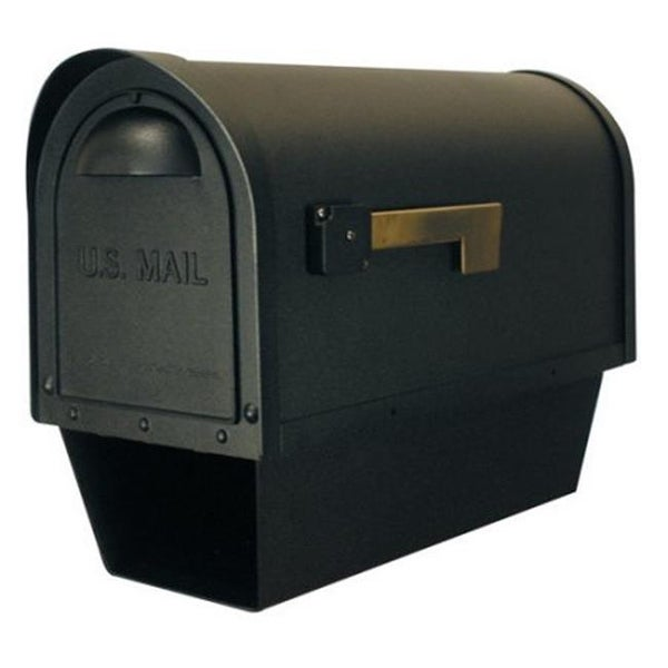 Clic Curbside Mailbox With Paper Oil Rubbed Bronze