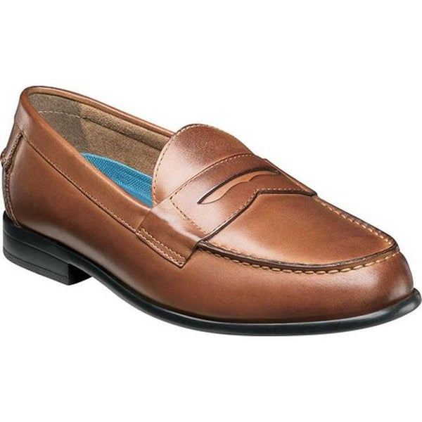 b093ffe81bc Shop Nunn Bush Men s Drexel Penny Loafer Cognac Leather - Free Shipping  Today - Overstock - 20146196
