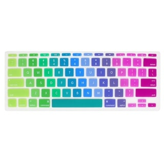 Unique Bargains Colorful Silicone Keyboard Film Guard Protector for Apple MacBook Air 11