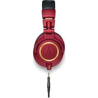 Audio-Technica ATH-M50xRD Limited Edition Professional Monitor Headphones (Red)
