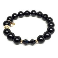 "Black Onyx Paris 7"" Bracelet"