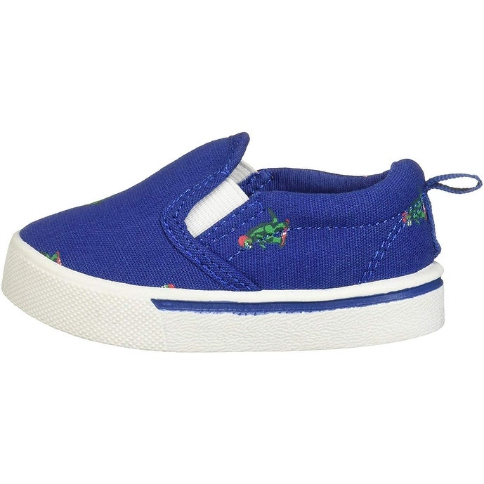 Oshkosh B/'Gosh Fenton Kids Shoes Blue Sneakers Slip On Athletic Toddler Boys NEW