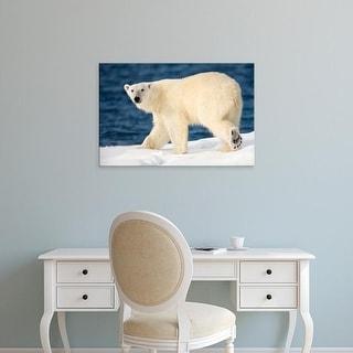 Easy Art Prints Paul Souders's 'Polar Bear' Premium Canvas Art