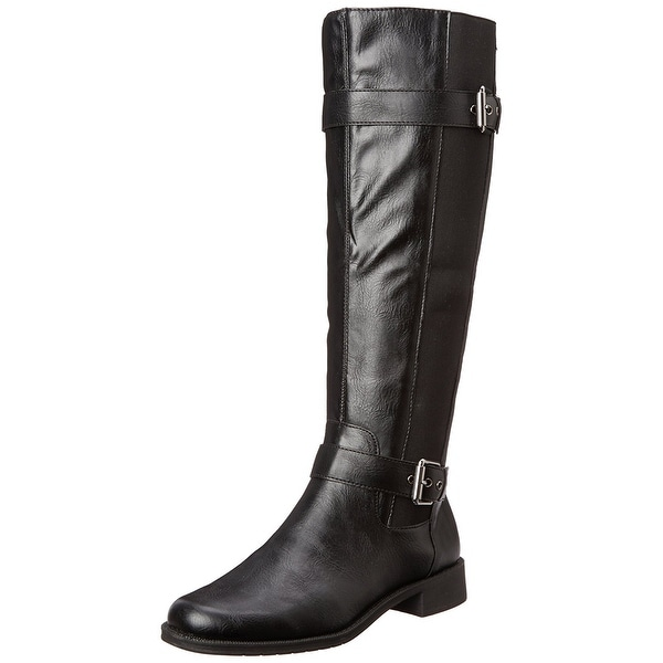 A2 by Aerosoles Women Ride Out Equestrian Boots - Black