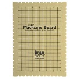 BeadSmith Mini Macrame Board For Braiding 9x6 Inches