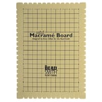 BeadSmith Mini Macrame Board For Braiding 9x6 Inches