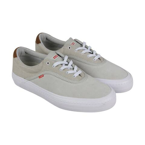 Globe Sprout White Mens Skate Inspired Sneakers