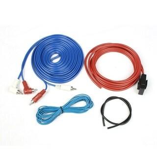 Unique Bargains Unique Bargains Car RCA Audio Speaker Amplifier Wiring Cable Wire Kit