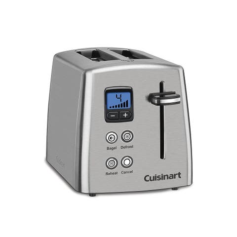 Cuisinart CPT-415 Countdown 2-Slice Toaster, Stainless Steel