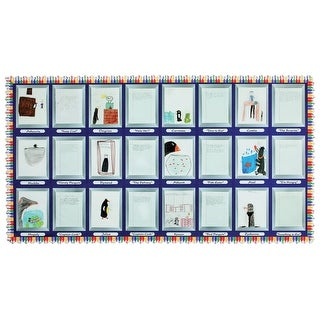 Fadeless Design Paper Roll - Framed at Last, 48 in X 50 ft