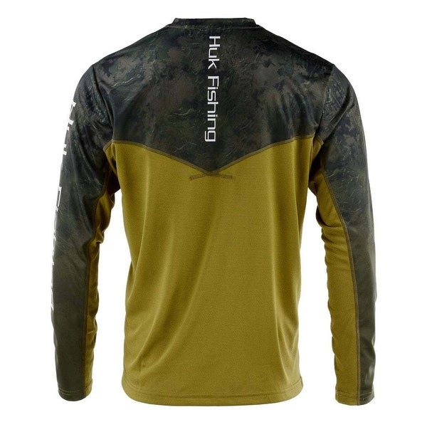 Huk Men/'s Icon Camo Subphantis Night Vision X-Large Long Sleeve Shirt