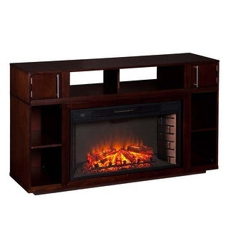 Southern Enterprises FE9024 Bexley Media Fireplace - Espresso