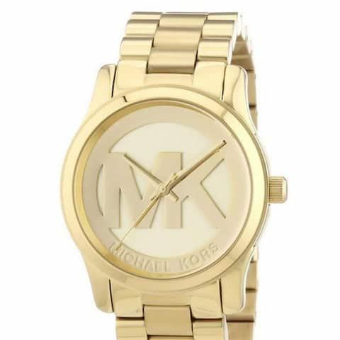 Michael Kors Monogram Logo watch - One Size