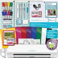 Silhouette Cameo 3 Machine Bundle Guide Starter Blade Mat Pens Oracal Vinyl Dsgns