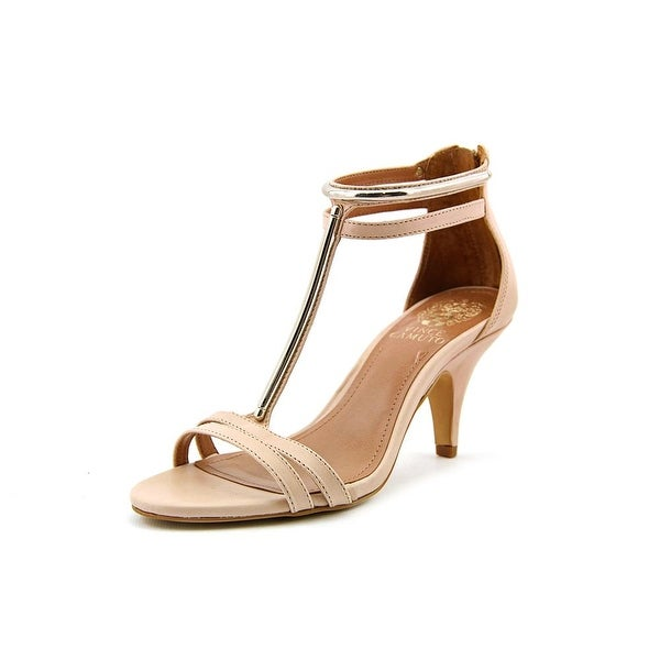 Vince Camuto Mitzy Women Open Toe Leather Nude Sandals