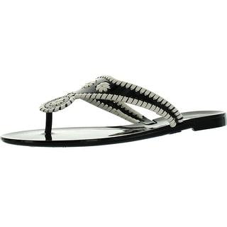 Bamboo Womens Lolli-02 Jellys Fashion Flip Flop Sandals