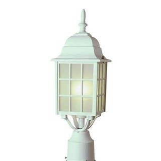 Trans Globe Lighting 4421 Single Light Up Lighting Square Outdoor Post Light from the Outdoor Collection