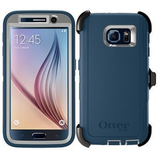 OtterBoxDefender Series Protective Case Coverfor Samsung Galaxy S6 - Grey Blue