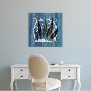 Easy Art Prints James Burghardt's 'Glyphic Tiles IV' Premium Canvas Art