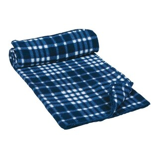 "Petmate 28518 Assorted Solids and Prints Polyester Pet Blanket, 40"" W x 29"" D"