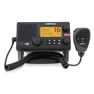Simrad RS35 VHF Radio w/AIS & NMEA 2000 Connectivity Simrad RS35 VHF Radio w/AIS & NMEA 2000 Connectivity