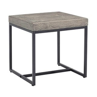 Brazin Square End Table Gray Square End Table