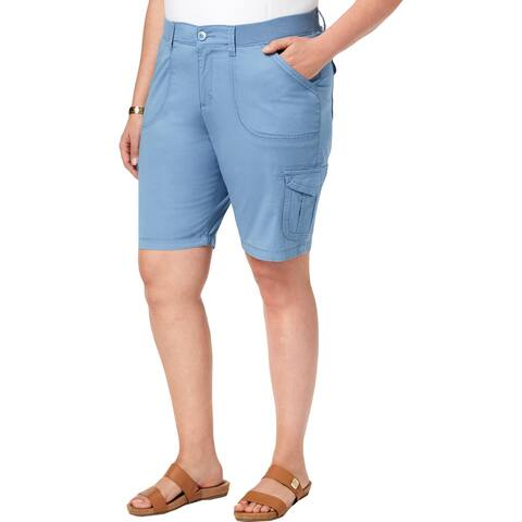 Lee Womens Cargo Shorts Casual Relaxed Fit