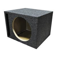 "Qpower Single 12"" Vented Woofer Box"