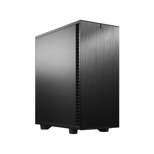 Fractal Design Define 7 Compact Black Brushed Aluminum/Steel ATX Compact Silent Mid Tower Computer Case - 21.1 x 20.51 x 12.2. Opens flyout.