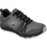 Skechers Men's Escape Plan Sneaker Charcoal/Black