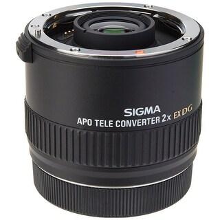 Sigma 2.0X Teleconverter EX APO DG for Canon Mount - Black