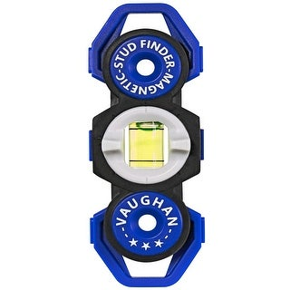 Vaughan 1 Pack Magnetic Stud Finder Pocket Sized No Batteries Needed - 050044