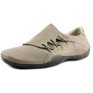 Propet Tawny Round Toe Leather Mules