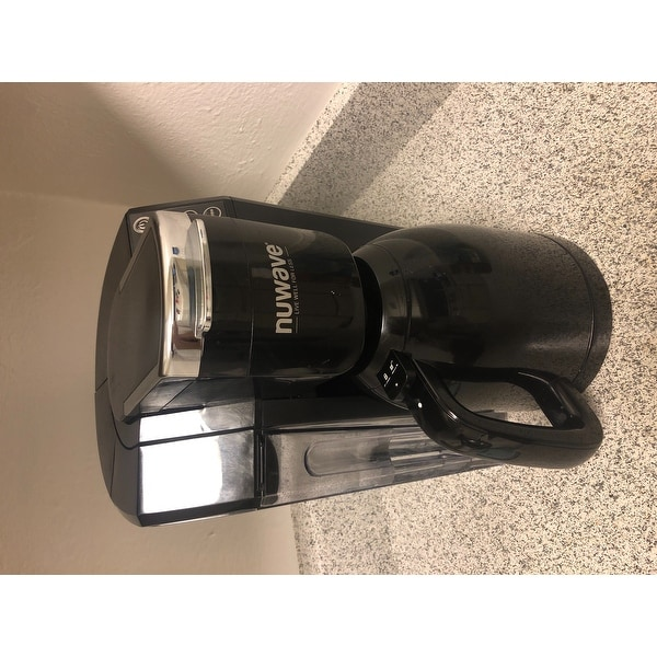 b4b0f71cebc1 Shop NuWave 45001 Bruhub 3-in-1 Single Serve Coffee Maker - Free Shipping  Today - Overstock - 24104239