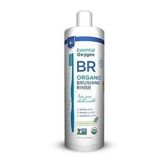 Essential Oxygen Brushing Rinse - Organic - Peppermint - 16 fl oz