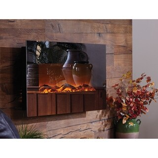 Touchstone 80008 Mirror Onyx Electric Fireplace