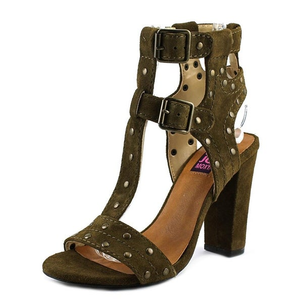 Mojo Moxy Trudie   Open Toe Suede  Sandals