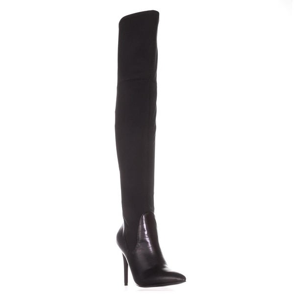 Charles by Charles David Premium Knee-High Fashion Boots, Black
