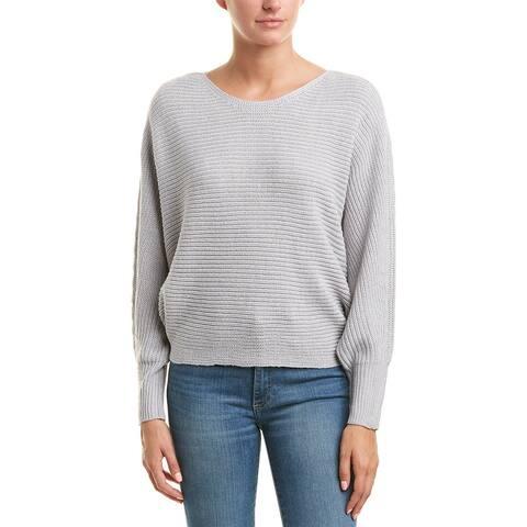 Romeo & Juliet Couture Sweater - LIGHT HEATHER GREY