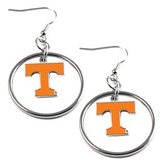Tennessee VOLS Volunteers Hoop Logo Earring Set NCAA Charm