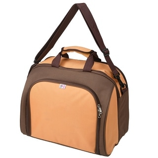 """Link to 8.5"""" x 15.35"""" Orange and Black 4-Person Picnic Kit Cooler Similar Items in Picnic"""