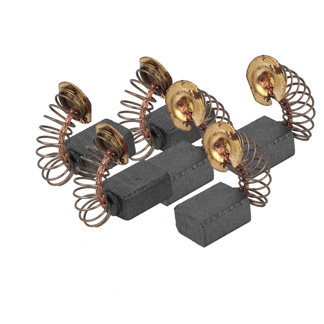 6 Pcs Replacement Motor Carbon Brushes 12mm x 9mm x 6mm for Electric Motors