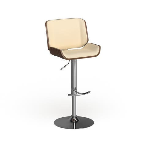Carson Carrington Tranas Mid-Century Modern Adjustable Barstool