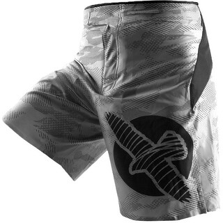 Hayabusa Weld3 MMA Fight Shorts - Gray - bjj boxing fitness training