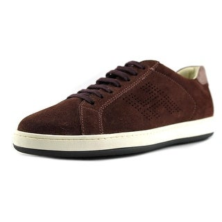 Hogan H192 Mod. Basso H Forata Youth Leather Brown Fashion Sneakers